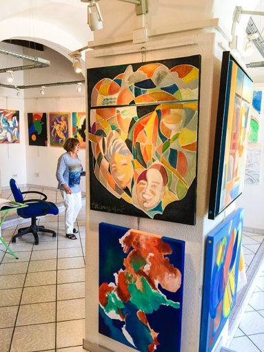 Exposition de peintures Anny Thiery a La Ciotat