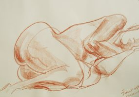 Croquis d'academie ©Anny Thiery